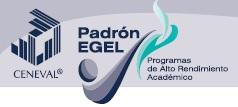 Logotipo del Padrón EGEL