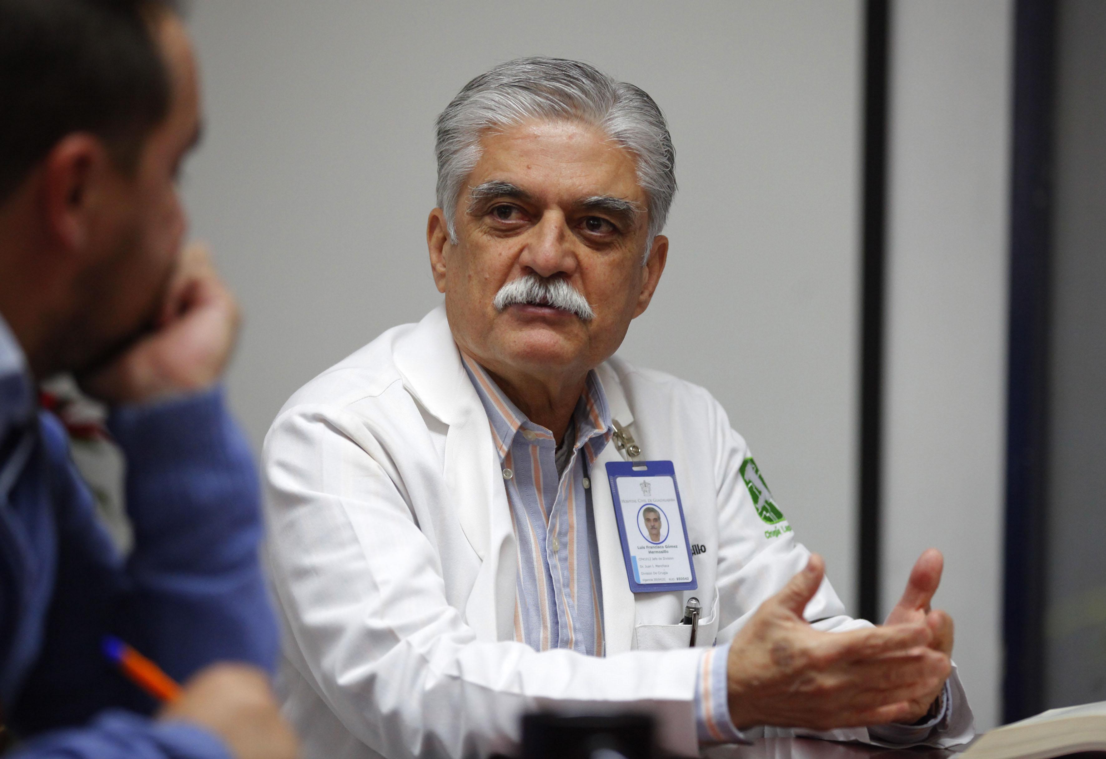 Dr. Luis Gómez Hermosillo en entrevista
