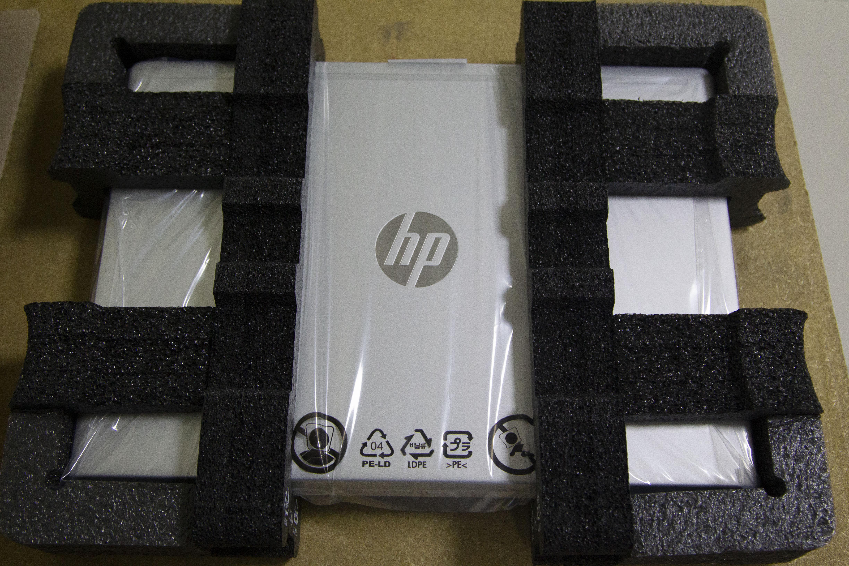 Laptop empacada