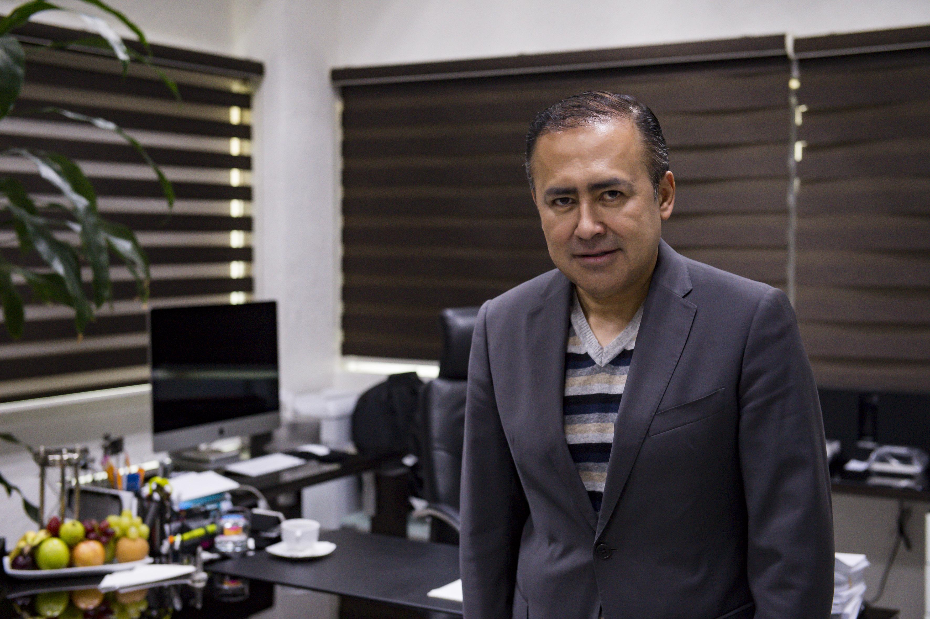 Rector del CUCS, Dr. Jaime F. Andrade Villanueva