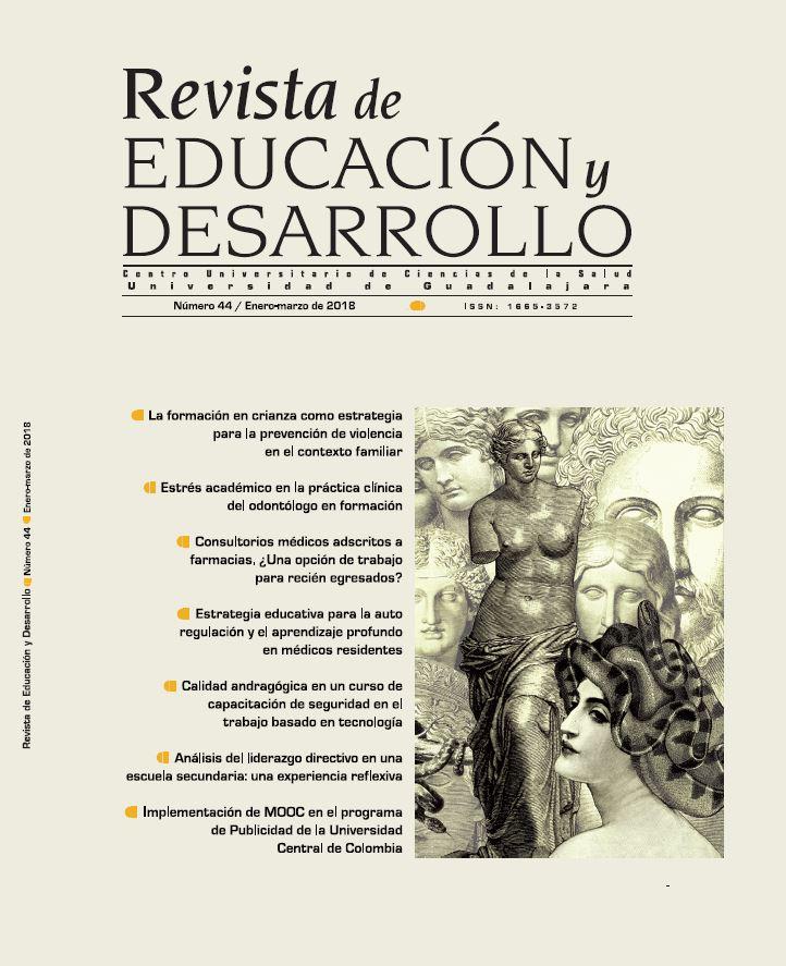 Portada de la Edición 44 de la Revista Educación y Desarrollo