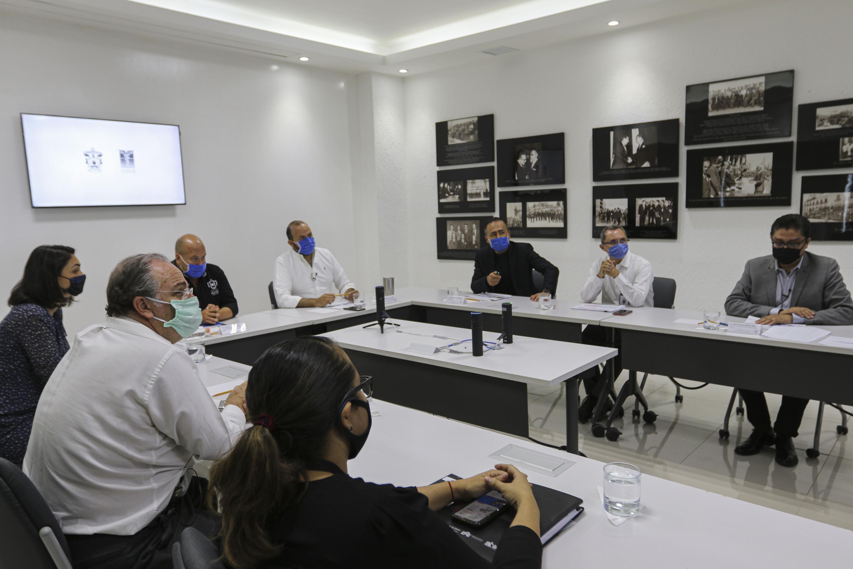 Toma general de la reunión del Programa Radar Jalisco