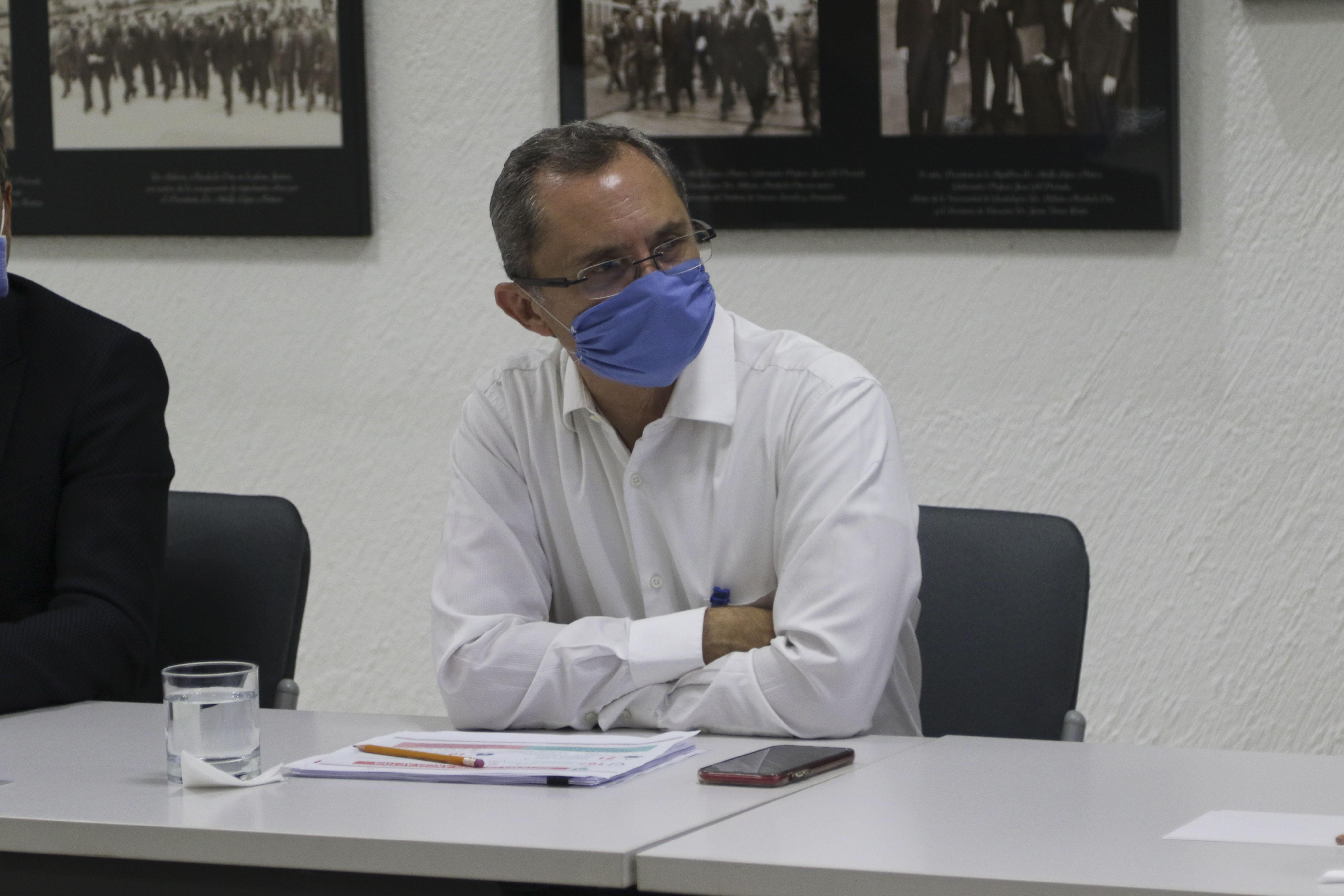 Toma cerrada del coordinador de Brigadas del Programa Radar Jalisco