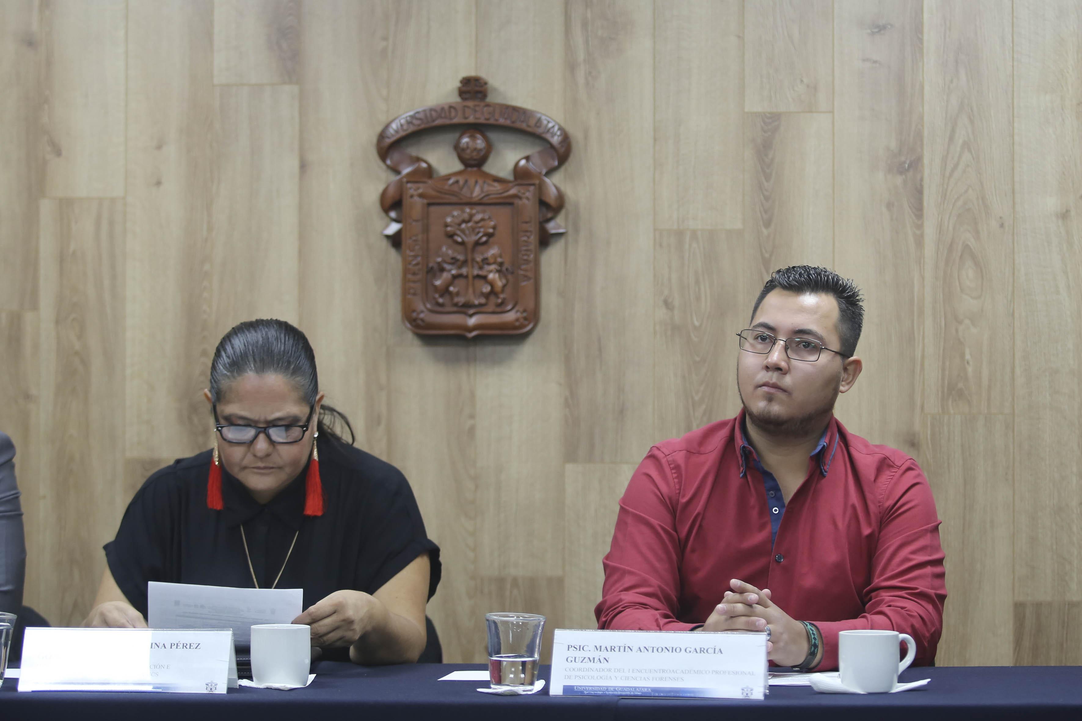 Psic. Martín García Guzman, organizador de Expo Forense