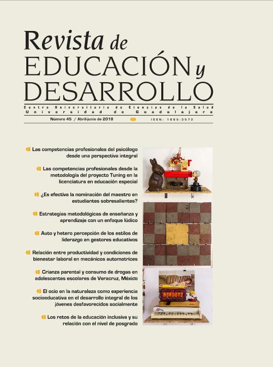 Portada edición No. 45 Revista Educación y Desarrollo