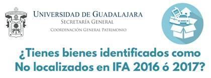 Liga a documento informativo para bienes no localizados, IFA 16/17
