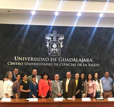 Foto grupal de los organizadores del Diplomado