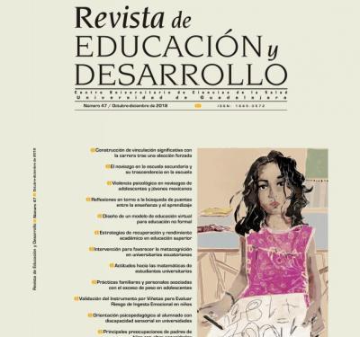 Portada Número 47 de Revista Educación y Desarrollo