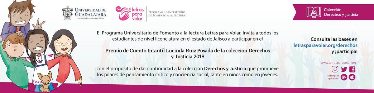 Premio de Cuento Infantil Lucinda Ruiz Posada de la colección Derechos y Justicia 2019