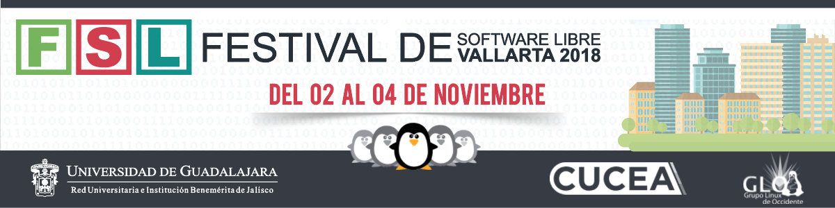 Festival de Software Libre Vallarta 2018