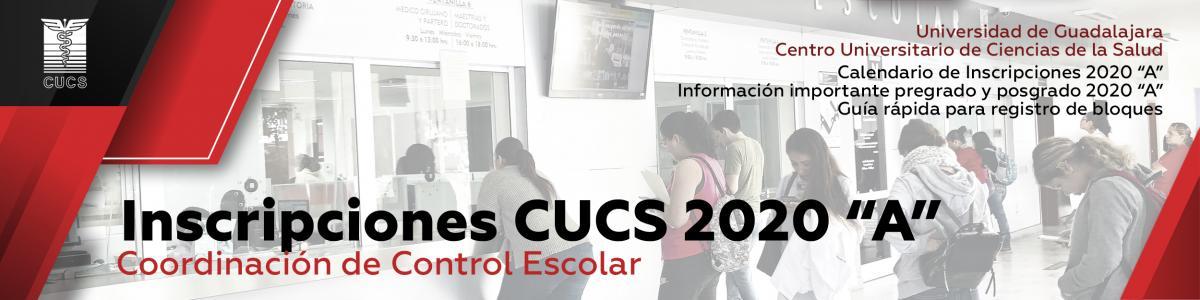 Inscripciones Ciclo Escolar 2020 A
