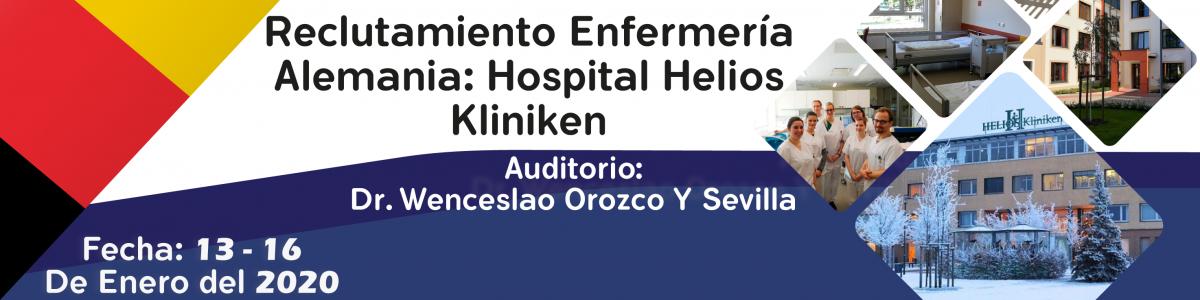 Reclutamiento Enfermería Alemania: Hospital Helios Kliniken