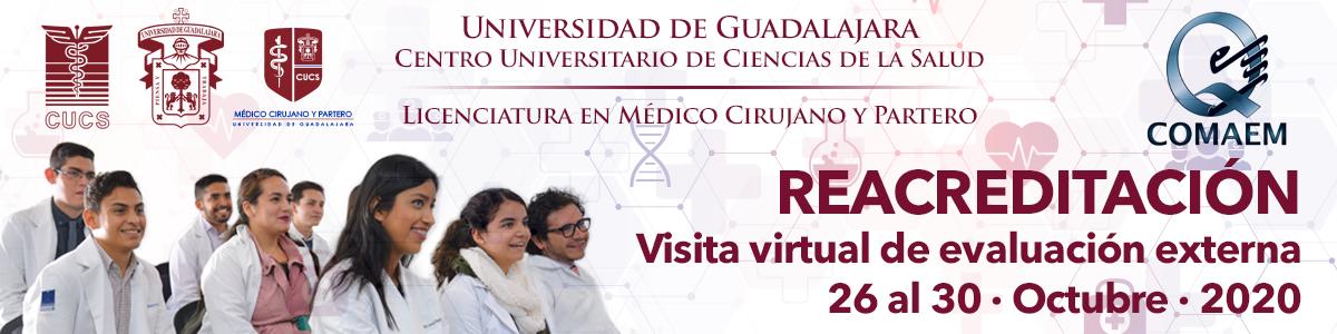 Re acreditación licenciatura en Médico Cirujano y Partero
