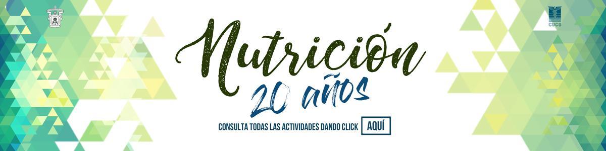 XX Aniversario Licenciatura en Nutrición