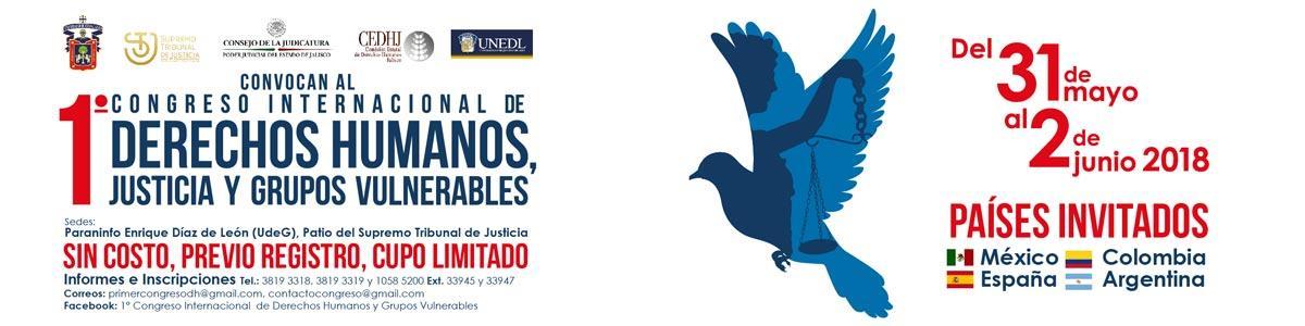 1° Congreso Internacional de Derechos Humanos, Justicia y Grupo Vulnerables