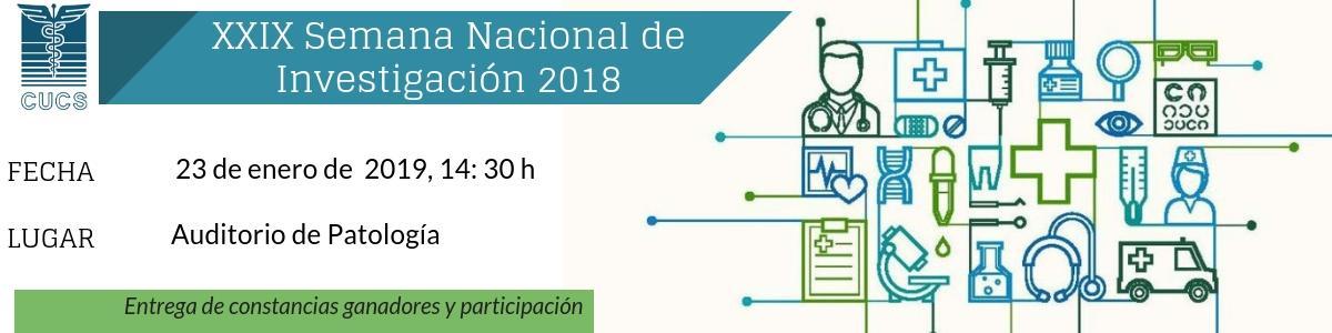 Clausura XXIX Semana Nacional de Investigación
