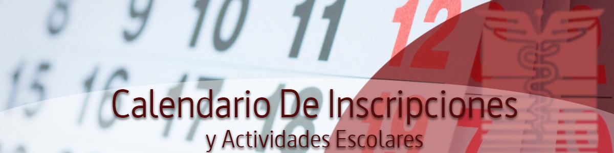 Calendario de Inscripciones y Actividades Escolares 2021A