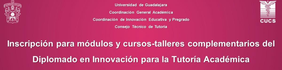 cursos-talleres del Diplomado en Innovación para la Tutoría Académica