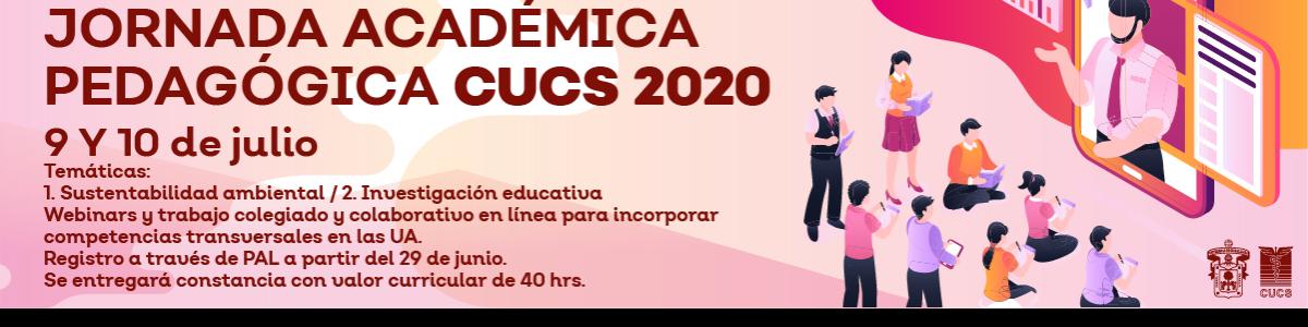 Jornada Academica Pedagogica CUCS 2020