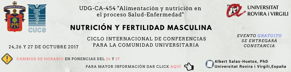 Ciclo de conferencias: Nutrición y Fertilidad Masculina