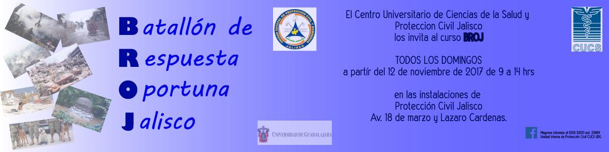 Curso BROJ (Batallón de Respuesta Oportuna Jalisco)