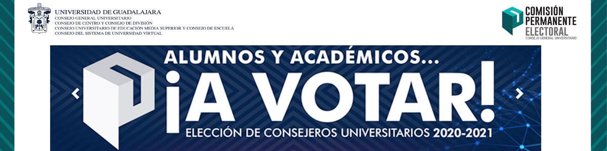 Elección de Consejeros Universitarios 2020