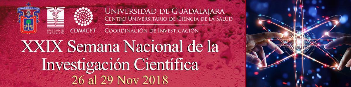 XXIX Semana Nacional de la Investigación Científica