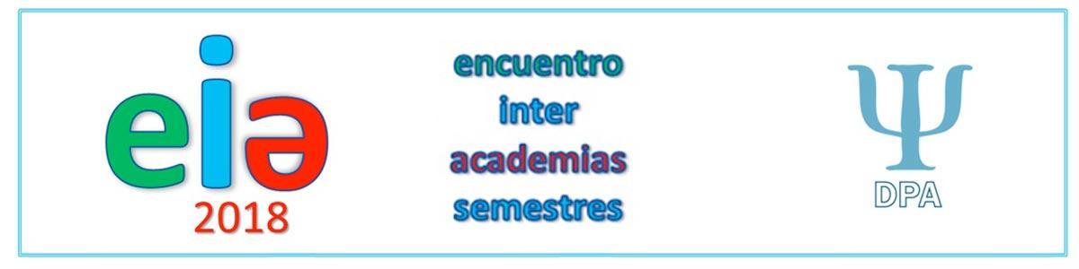 III Encuentro Académico Intersemestral 2018, Departamento de Psicología Aplicada