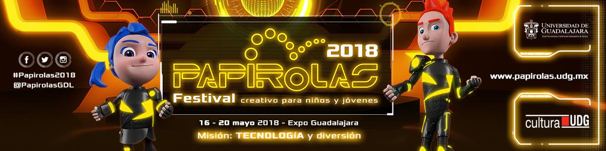 Papirolas 2018. Festival creativo para niños y jóvenes