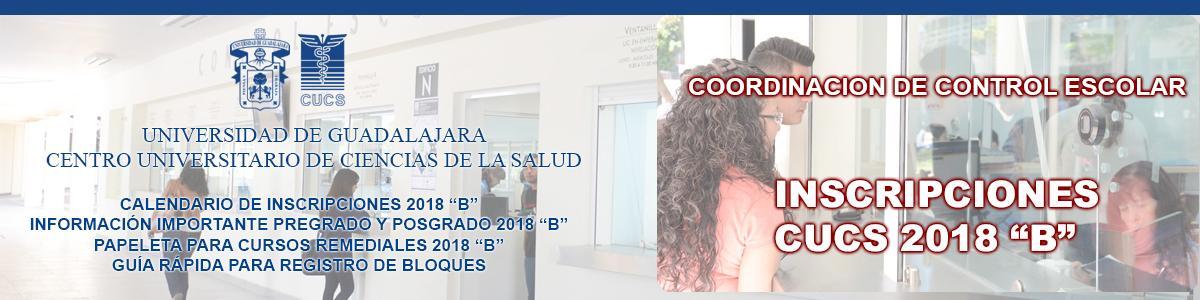 Inscripciones Ciclo Escolar 2018 B