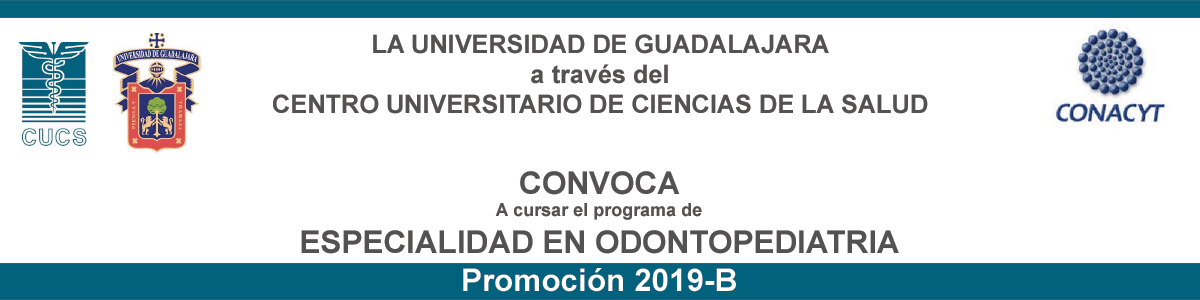 Convocatoria a Especialidad en Odontopediatría