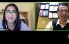 Captura de pantalla con ponente y moderador conectados