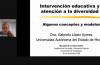 Captura de pantalla de la Dra. Gabriela López con diapositiva