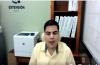 Caputra de la imagen del Jefe de Servicio Social del CUCS durante sesión virtual