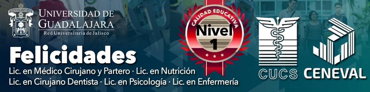 Banner de felicitación publicado en el portal web del CUCS