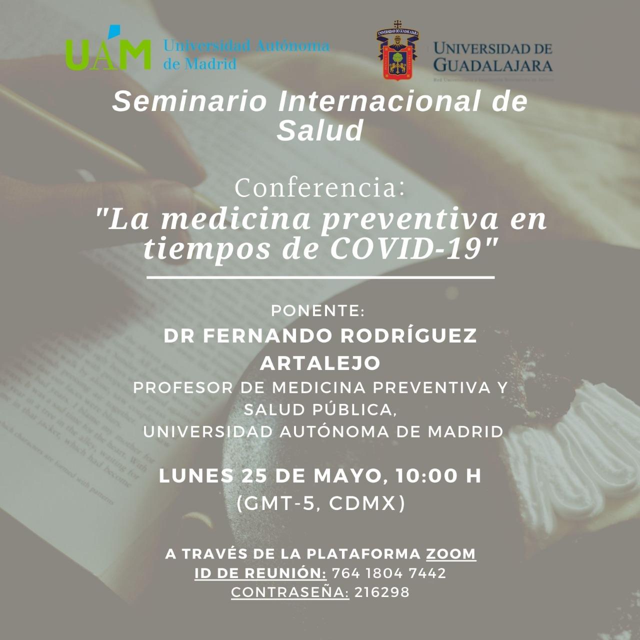 Banner promocional del Seminlario virtual